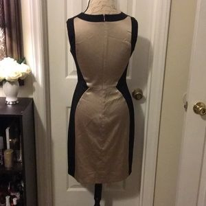 The Limited Dresses - The Limited Gold and Black Dress